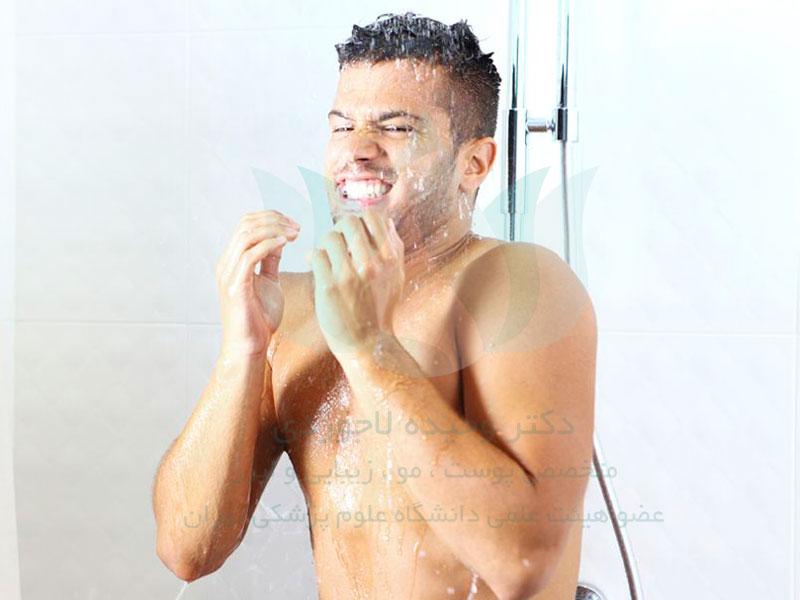 حمام با آب سرد